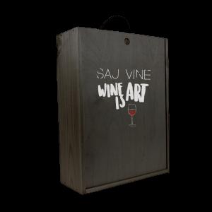 Gaveæske til vin