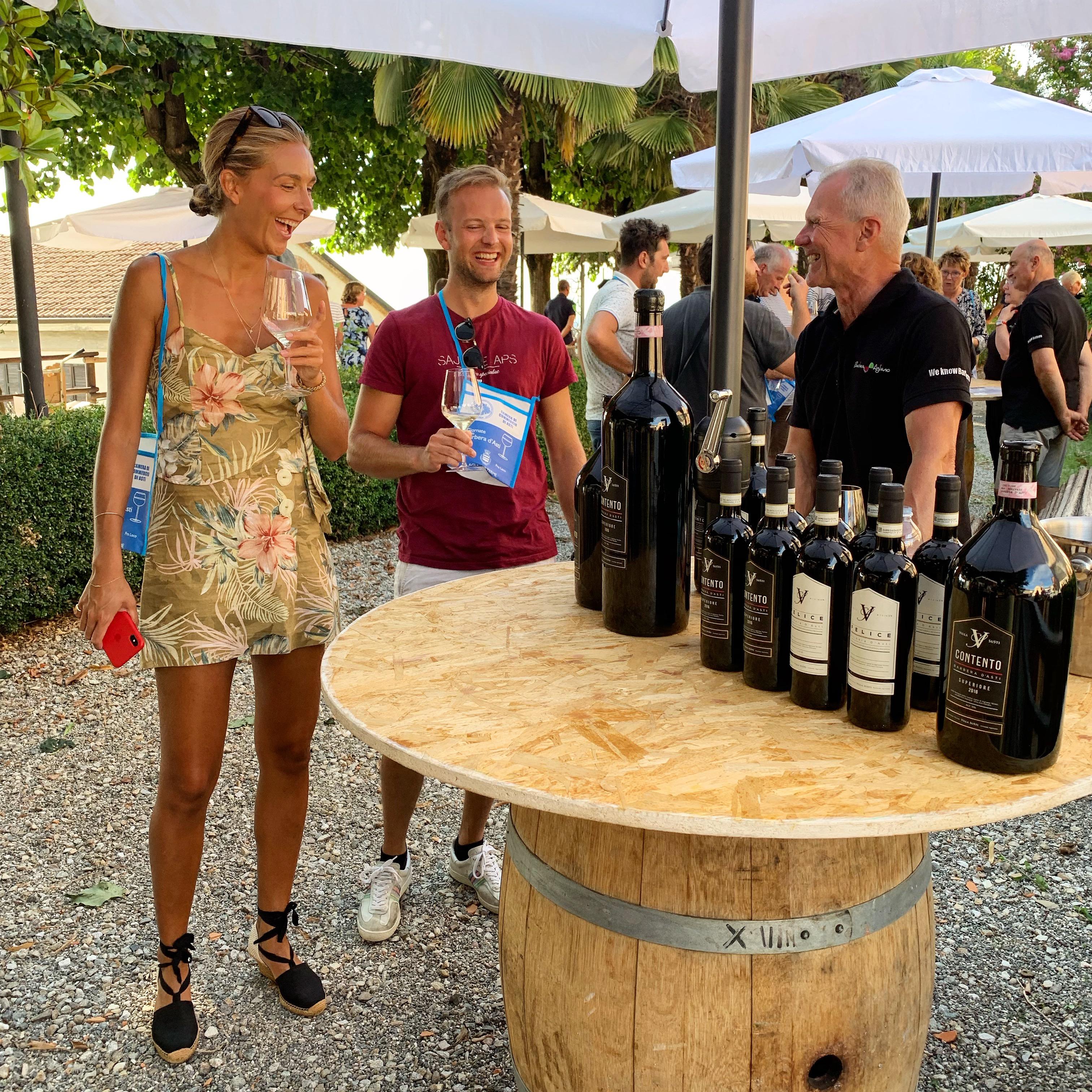 Villa SuSti Agliano Terme Barbera Festival
