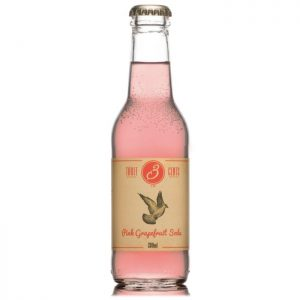 3 Cents Pink Grapefruit Soda