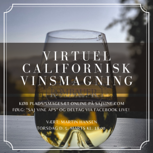 Virtuel Californisk Vinsmagning